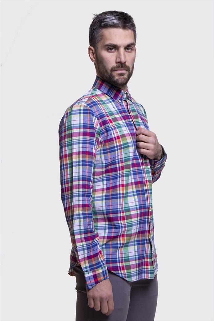 Polo Ralph Lauren ανδρικό καρό πουκάμισο Classic Fit Πολύχρωμο 1