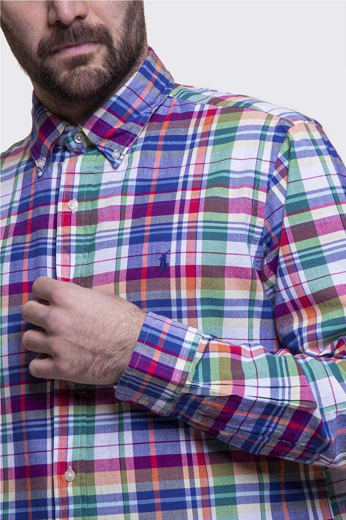 Polo Ralph Lauren ανδρικό καρό πουκάμισο Classic Fit Πολύχρωμο 2