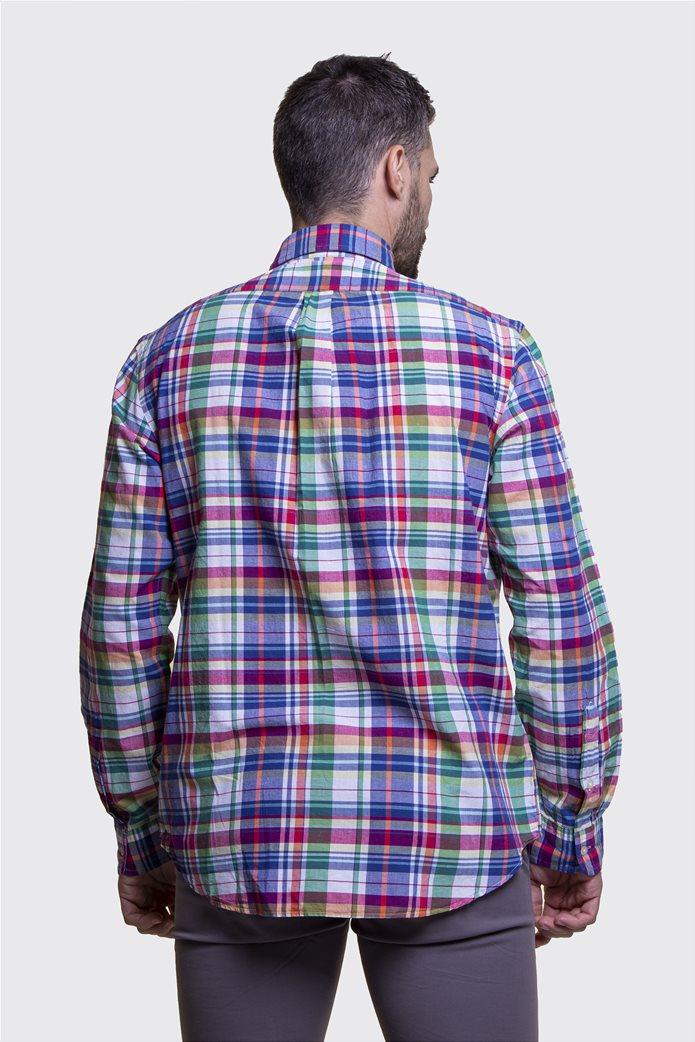 Polo Ralph Lauren ανδρικό καρό πουκάμισο Classic Fit Πολύχρωμο 3