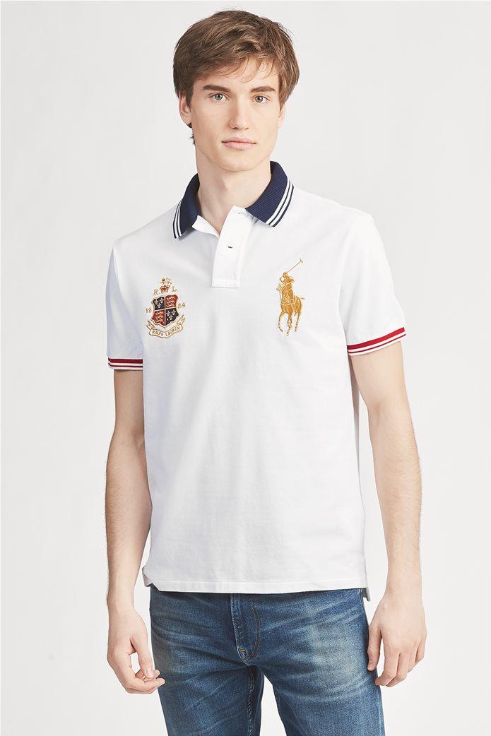 "Polo Ralph Lauren ανδρική μπλούζα πόλο με κέντημα ""R.L. 1924 Ralph Lauren"" 0"