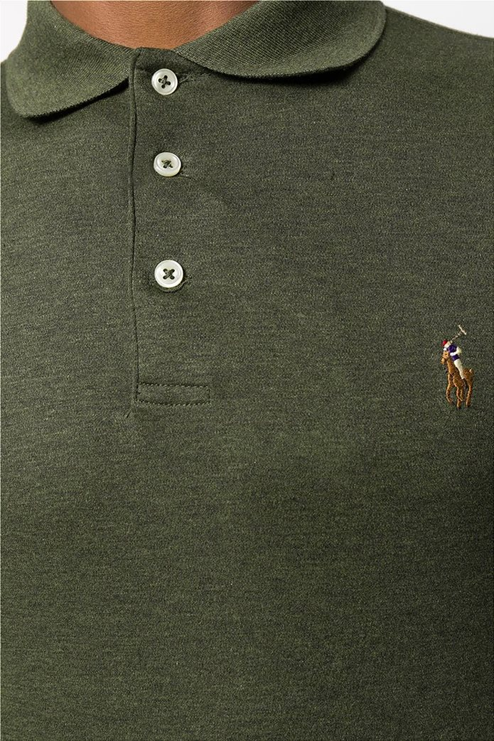 Polo Ralph Lauren ανδρική μπλούζα μακρυμάνικη πόλο Slim fit 1