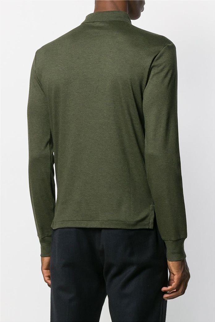 Polo Ralph Lauren ανδρική μπλούζα μακρυμάνικη πόλο Slim fit 3
