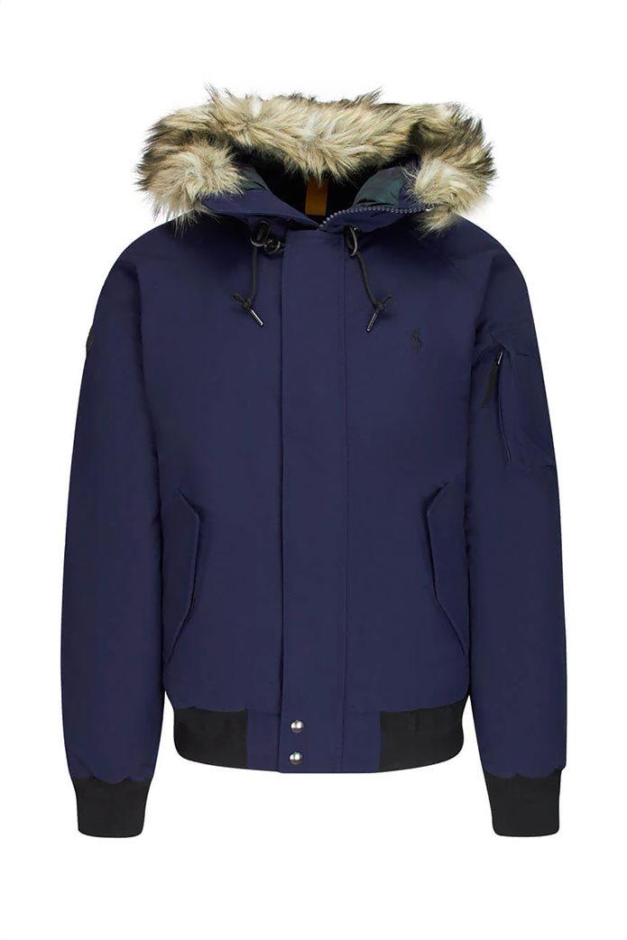 "Polo Ralph Lauren ανδρικό μπουφάν με κουκούλα γούνα ""Faux-Fur-Trim Down"" 0"