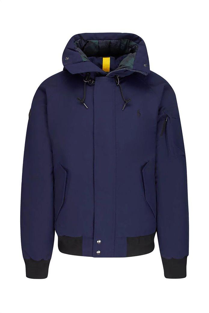 "Polo Ralph Lauren ανδρικό μπουφάν με κουκούλα γούνα ""Faux-Fur-Trim Down"" 1"
