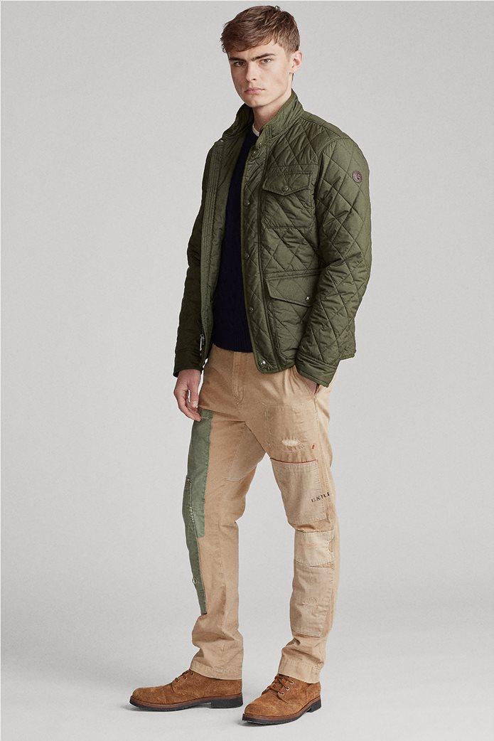 Polo Ralph Lauren ανδρικό μπουφάν καπιτονέ με flap τσέπες 0