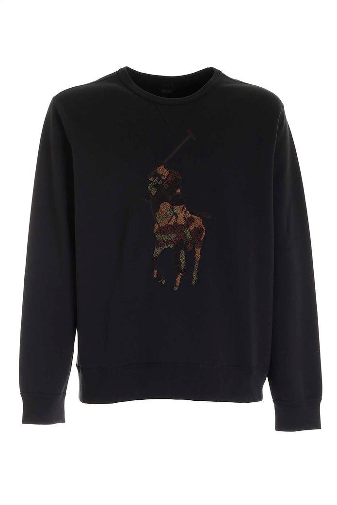 """Polo Ralph Lauren ανδρική μπλούζα φούτερ με κεντημένο σχέδιο αλογάκι """"Big Pony"""" 0"""