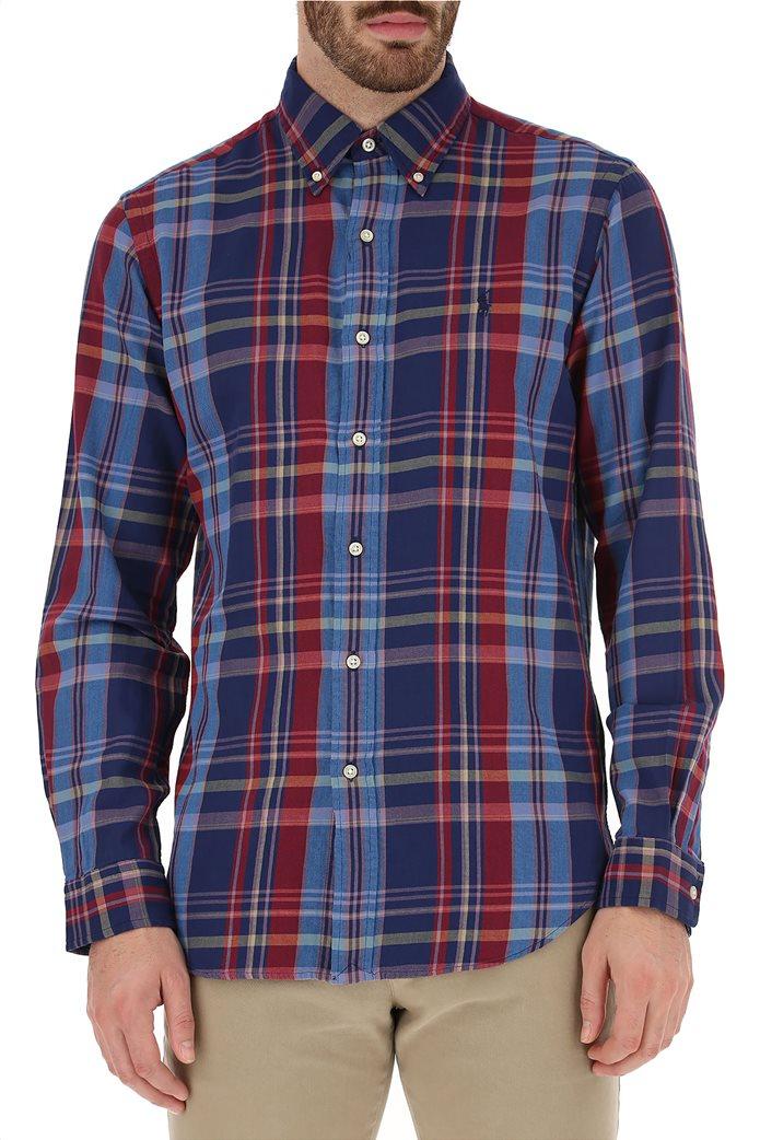 Polo Ralph Lauren ανδρικό καρό πουκάμισο Custom Fit 0