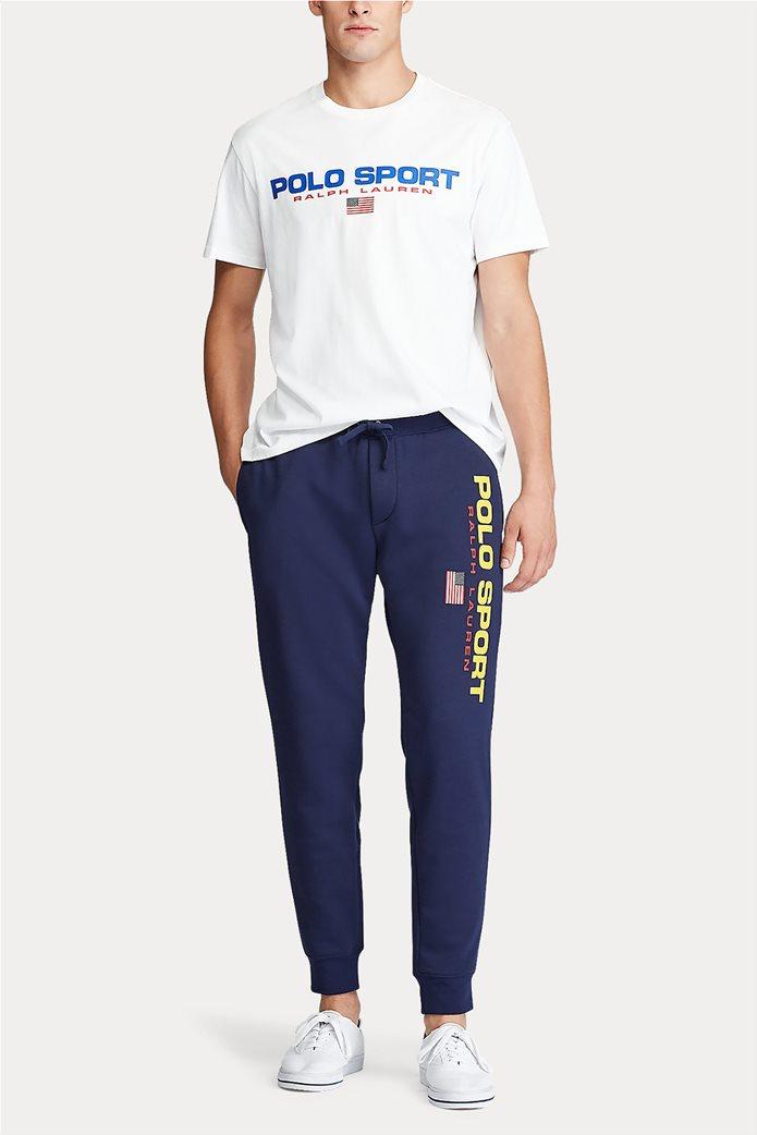 Polo Ralph Lauren ανδρικό παντελόνι φόρμας με logo print 0