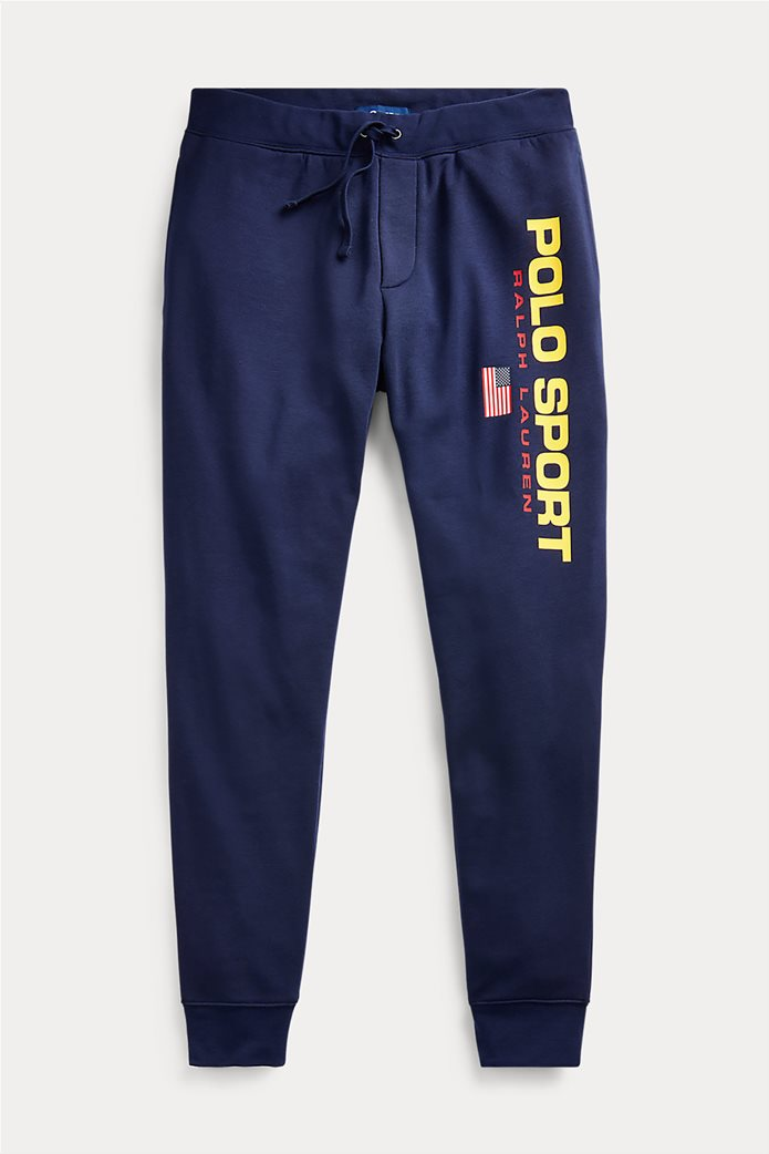Polo Ralph Lauren ανδρικό παντελόνι φόρμας με logo print 4