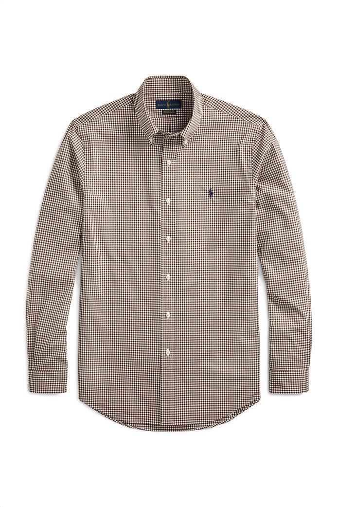 Polo Ralph Lauren ανδρικό καρό πουκάμισο Custom Fit 4