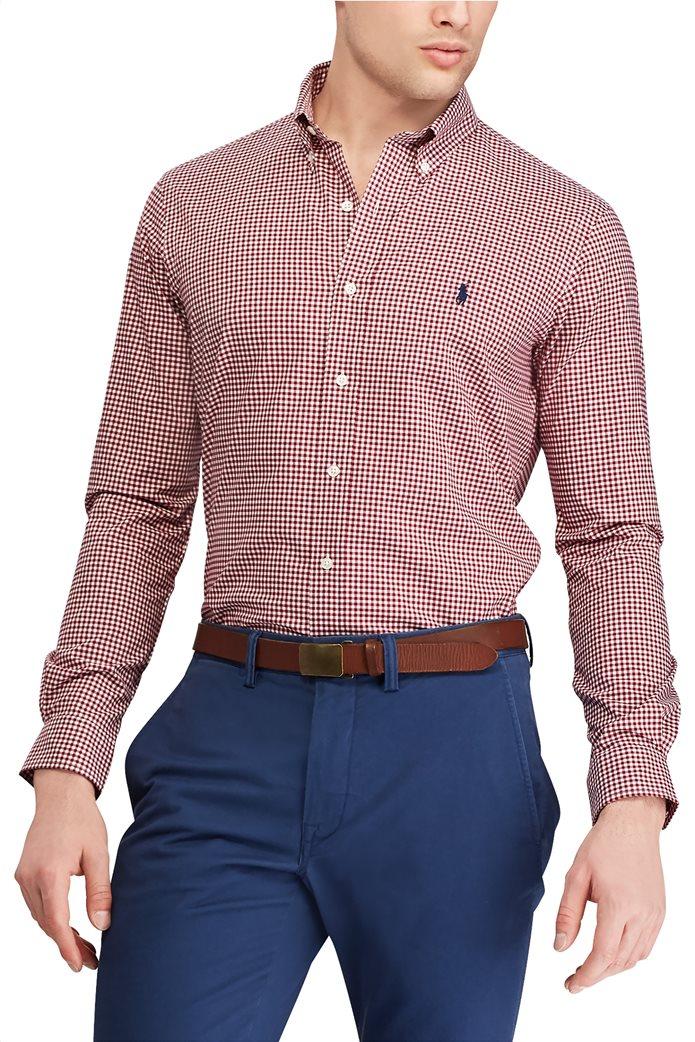 Polo Ralph Lauren ανδρικό καρό πουκάμισο Custom Fit 2