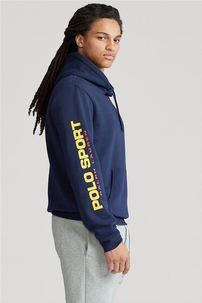 """Polo Ralph Lauren ανδρική μπλούζα φούτερ με κουκούλα """"Polo Sport"""" 1"""