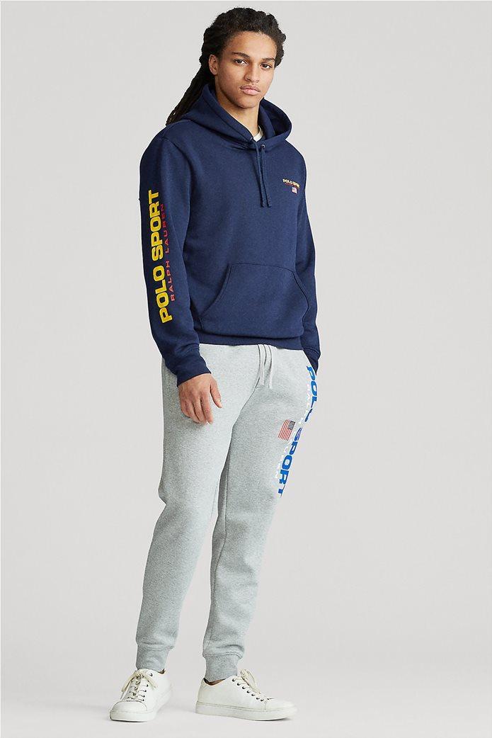 """Polo Ralph Lauren ανδρική μπλούζα φούτερ με κουκούλα """"Polo Sport"""" 2"""