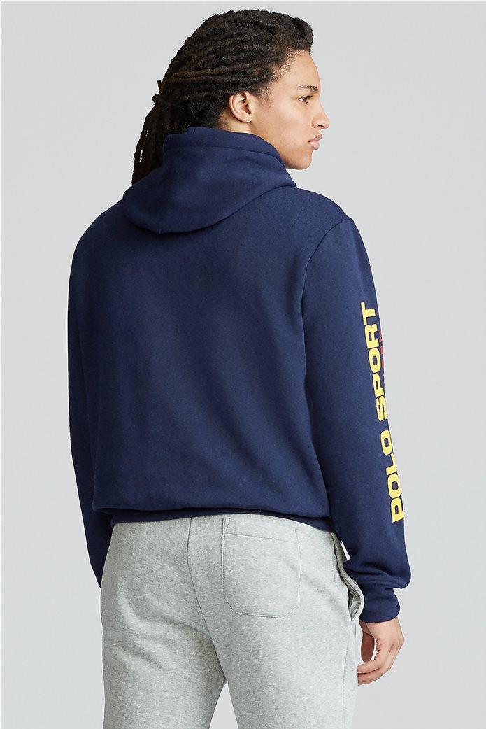 """Polo Ralph Lauren ανδρική μπλούζα φούτερ με κουκούλα """"Polo Sport"""" 3"""