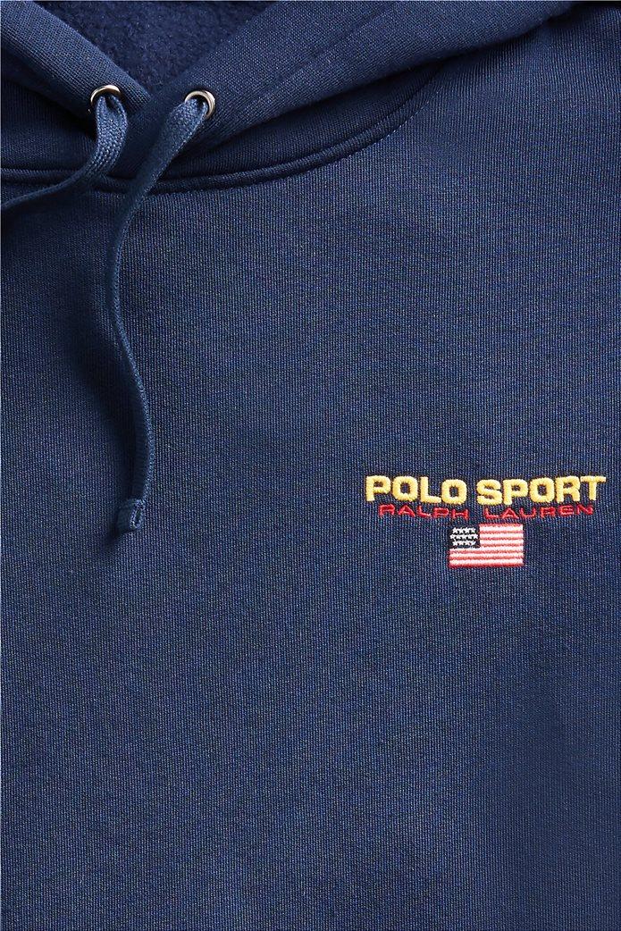 """Polo Ralph Lauren ανδρική μπλούζα φούτερ με κουκούλα """"Polo Sport"""" 4"""