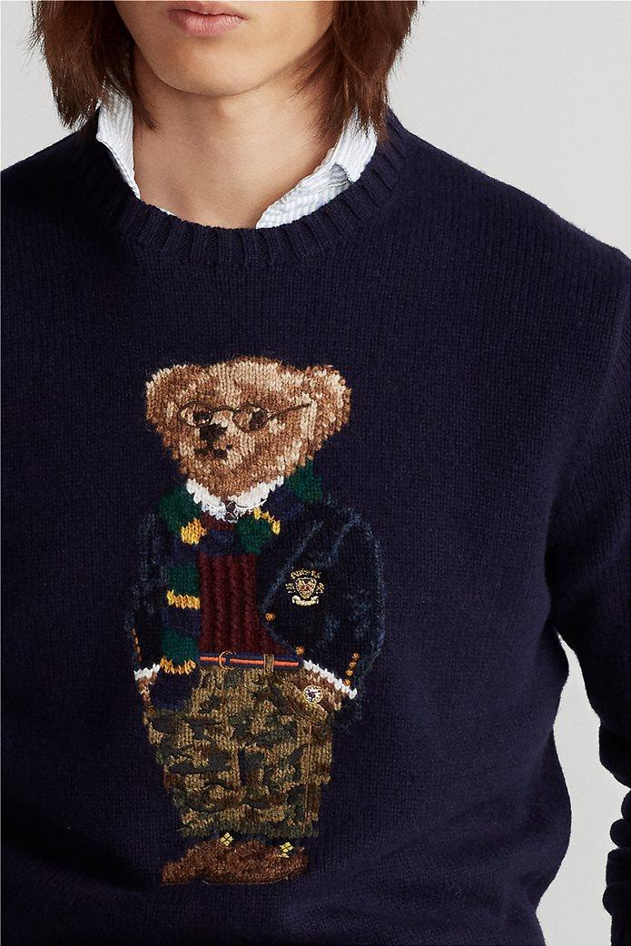 """Polo Ralph Lauren ανδρικό πουλόβερ με σχέδιο """"Preppy Polo Bear"""" 1"""
