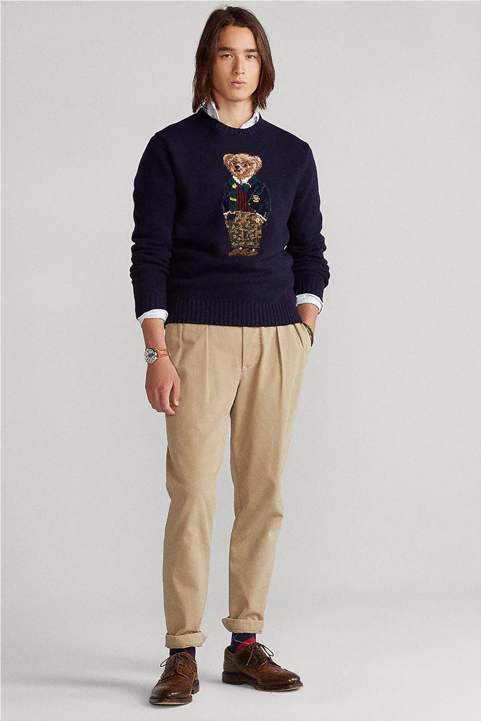 """Polo Ralph Lauren ανδρικό πουλόβερ με σχέδιο """"Preppy Polo Bear"""" 2"""