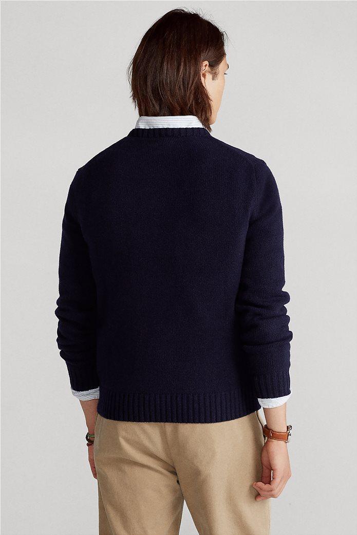 """Polo Ralph Lauren ανδρικό πουλόβερ με σχέδιο """"Preppy Polo Bear"""" 3"""