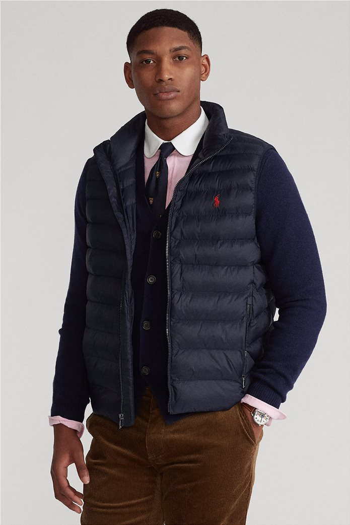 "Polo Ralph Lauren ανδρικό αμάνικο μπουφάν καπιτονέ ""The Packable"" 0"