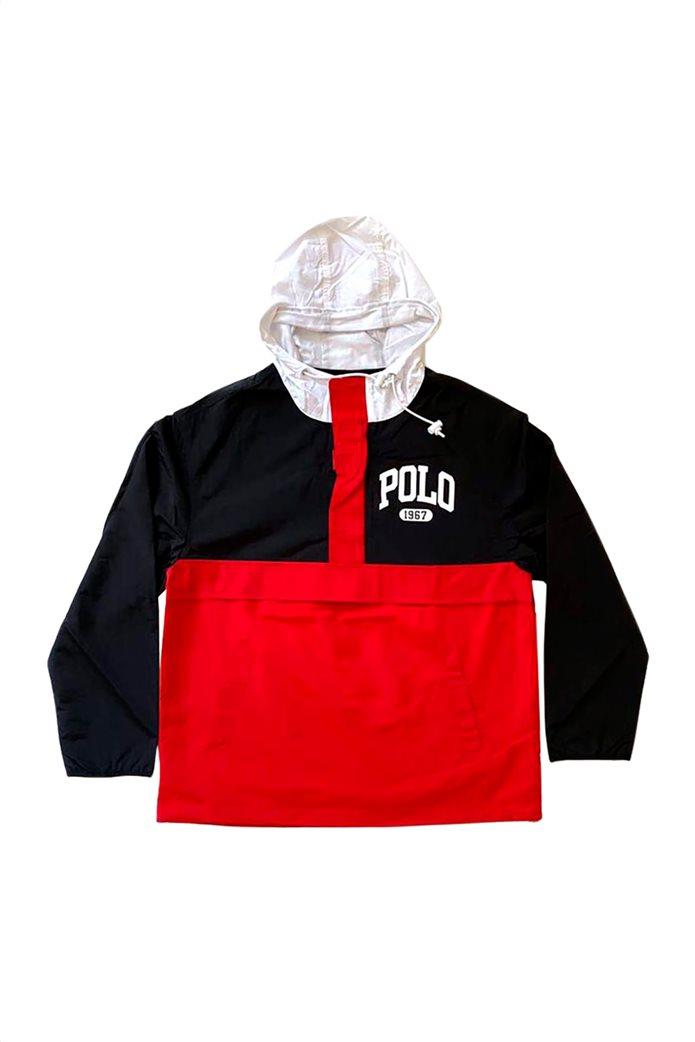 Polo Ralph Lauren ανδρικό jacket με κουκούλα και logo print 0