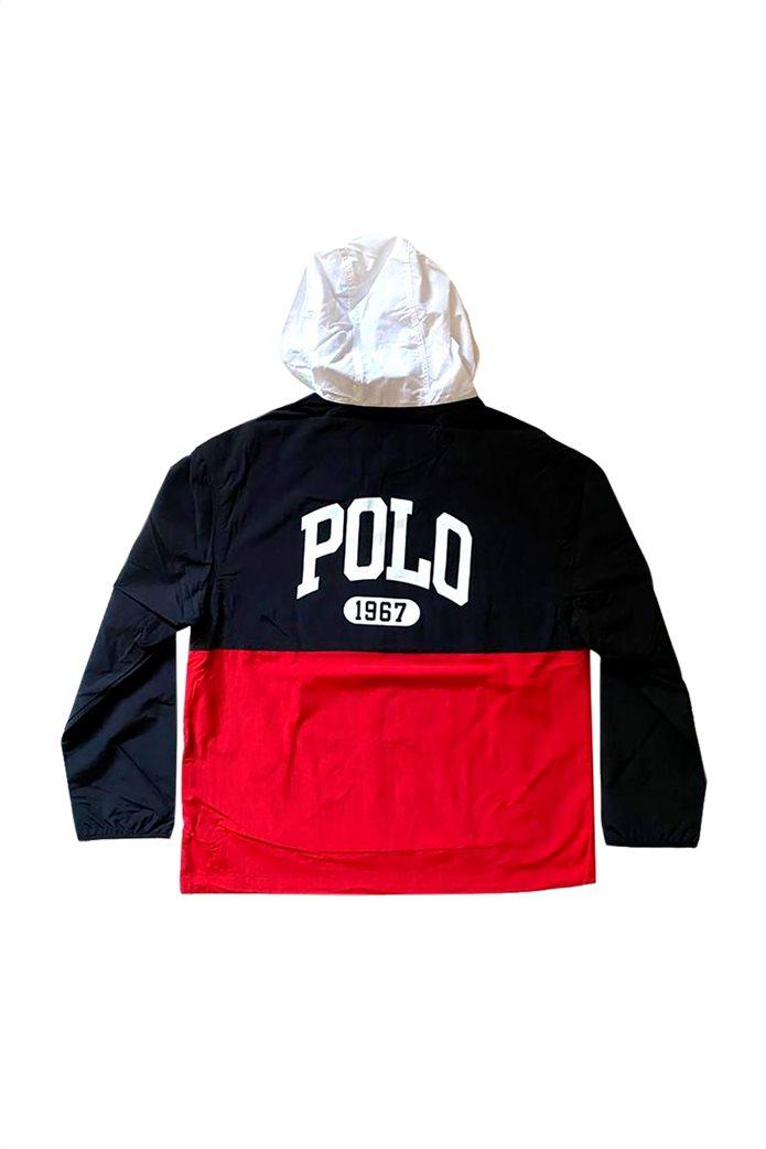 Polo Ralph Lauren ανδρικό jacket με κουκούλα και logo print 1