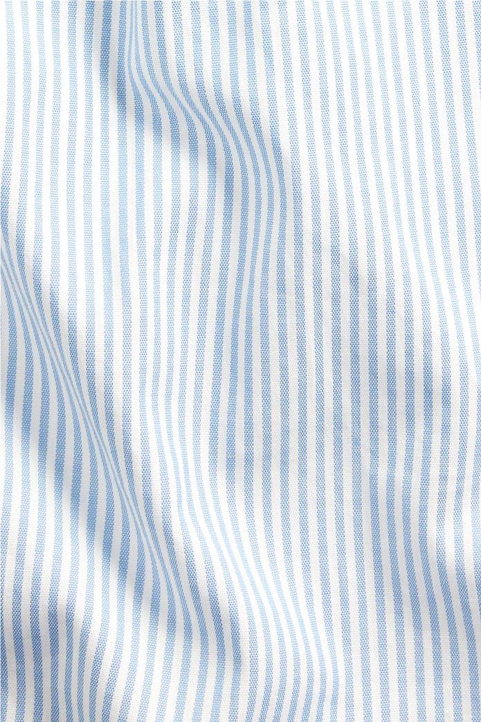 "Polo Ralph Lauren ανδρικό πουκάμισο ριγέ με κεντημένο logo ""Custom Fit Striped Stretch Oxford"" Γαλάζιο 5"