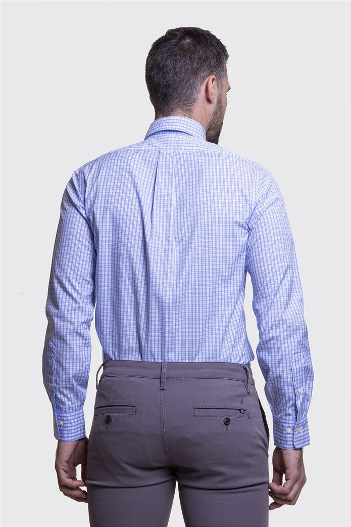 Polo Ralph Lauren ανδρικό πουκάμισο με μικροσχέδιο καρό Regular fit 3