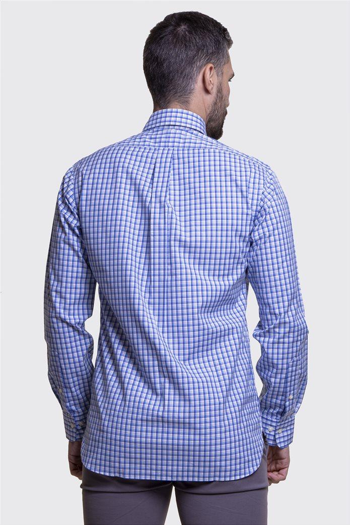 Polo Ralph Lauren ανδρικό πουκάμισο καρό με button down γιακά 3