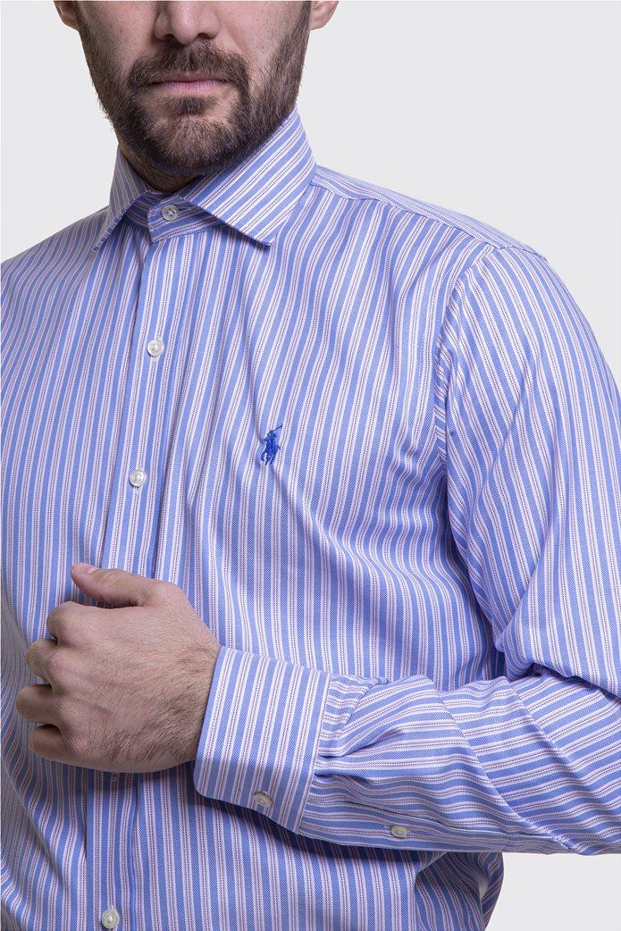Polo Ralph Lauren ανδρικό πουκάμισο ριγέ Μπλε Σκούρο 4