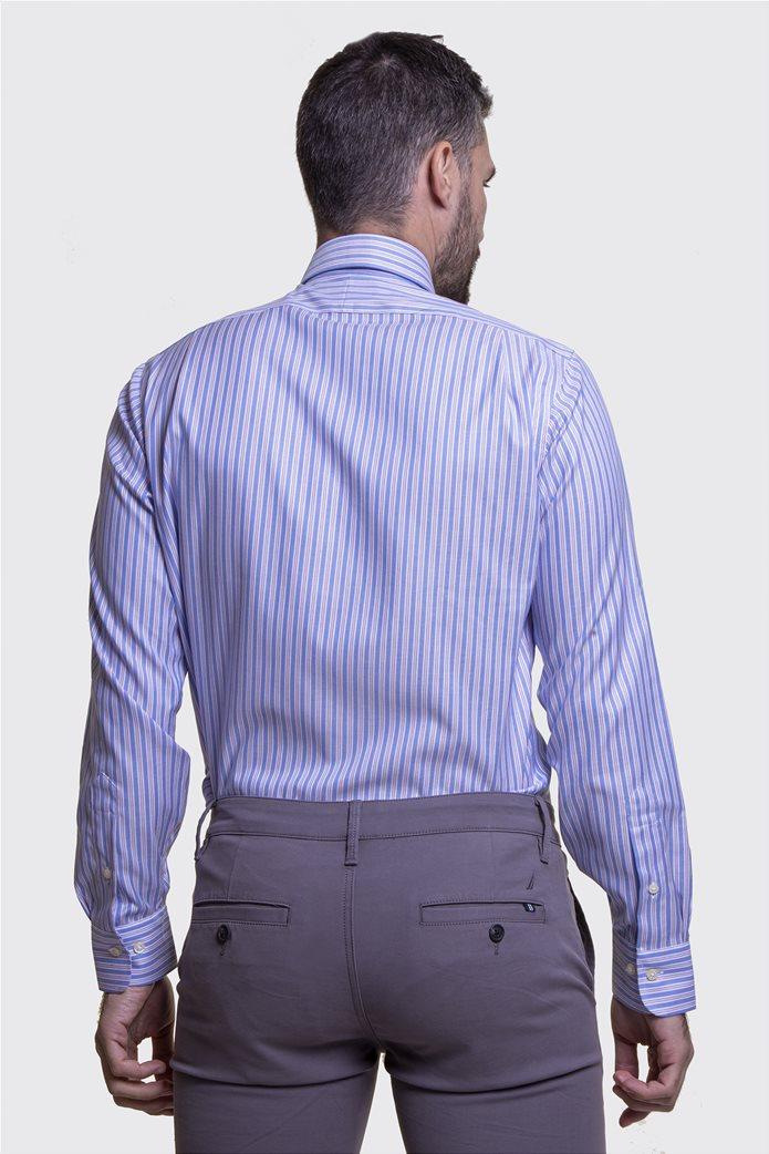 Polo Ralph Lauren ανδρικό πουκάμισο ριγέ Μπλε Σκούρο 5