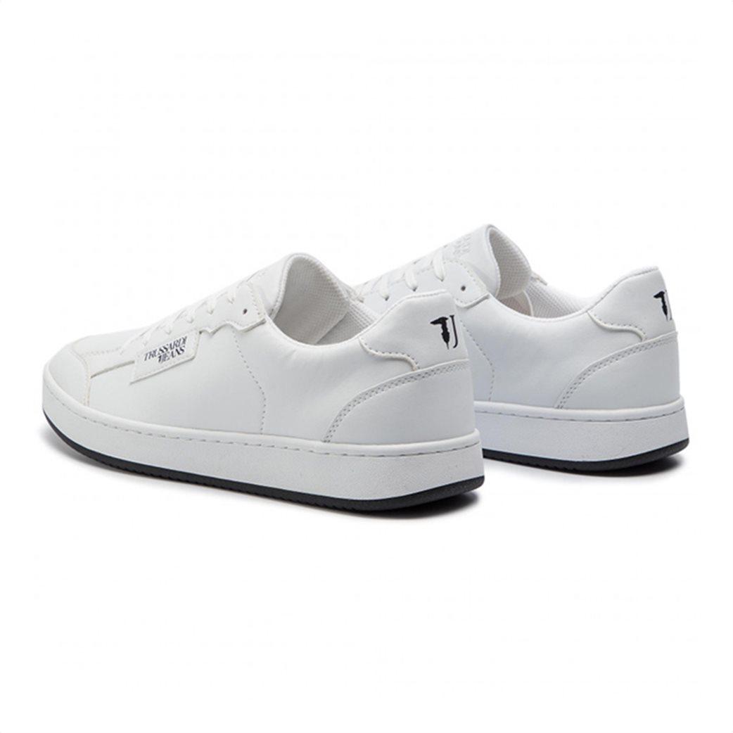 Trussardi ανδρικά sneakers με logo print Λευκό 2