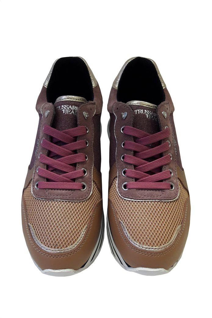 Trussardi γυναικεία sneakers δίσολα Ταμπά 1