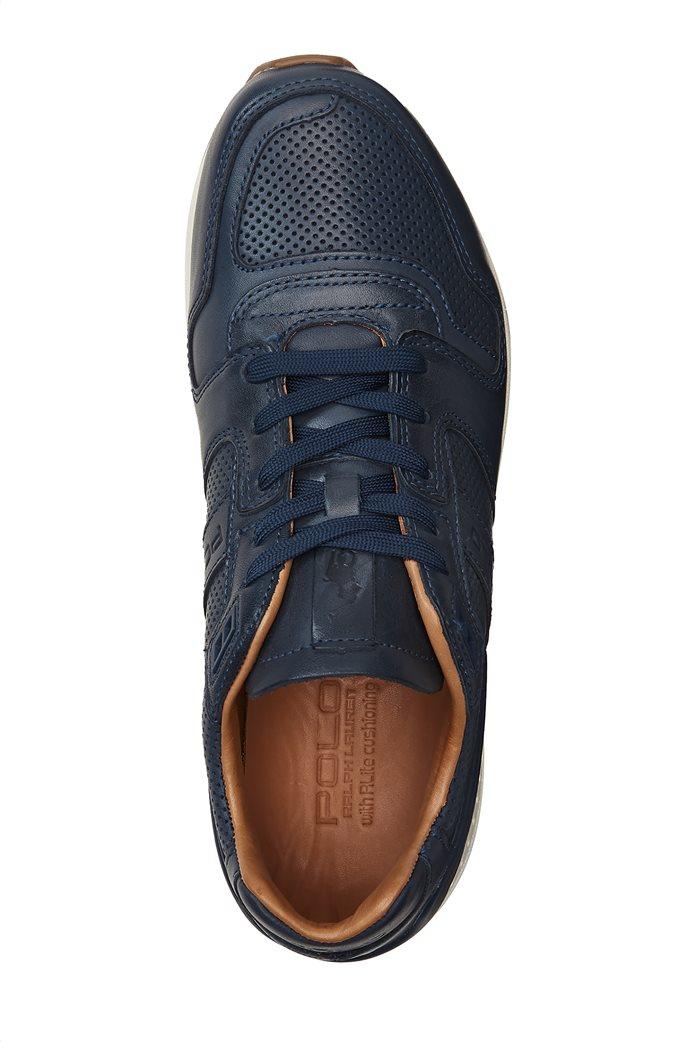 Polo Ralph Lauren ανδρικά παπούτσια δερμάτινα με κορδόνια 2