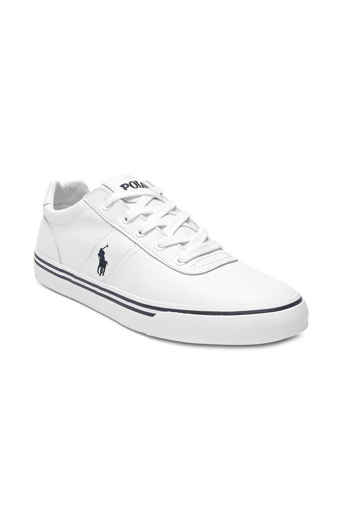 Polo Ralph Lauren ανδρικά sneakers δερμάτινα Hanford 1