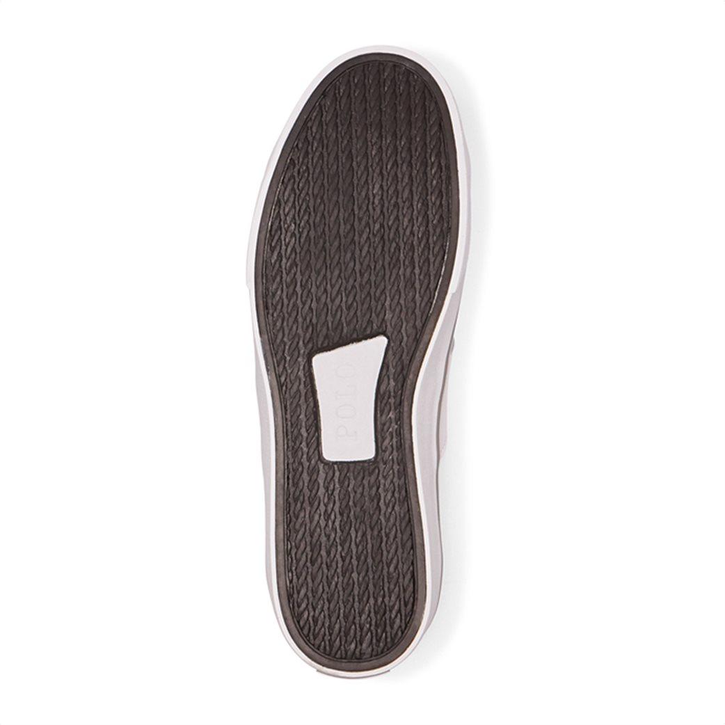 "Polo Ralph Lauren ανδρικά δερμάτινα sneakers με κορδόνια ""Sayer"" 3"