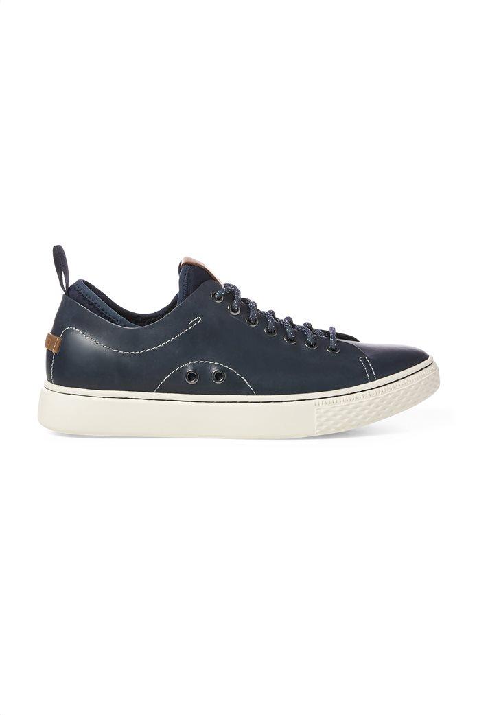 Polo Ralph Lauren ανδρικά sneakers δερμάτινα με κορδόνια Dunovin 0