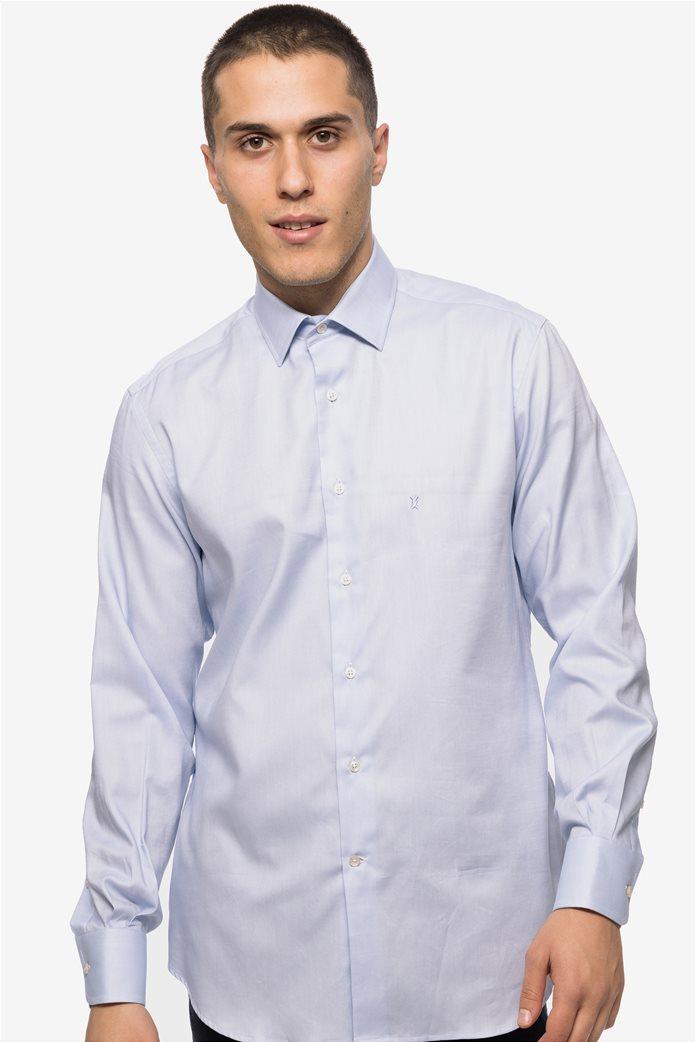 The Bostonians ανδρικό πουκάμισο μονόχρωμο 1 13b87911b8a