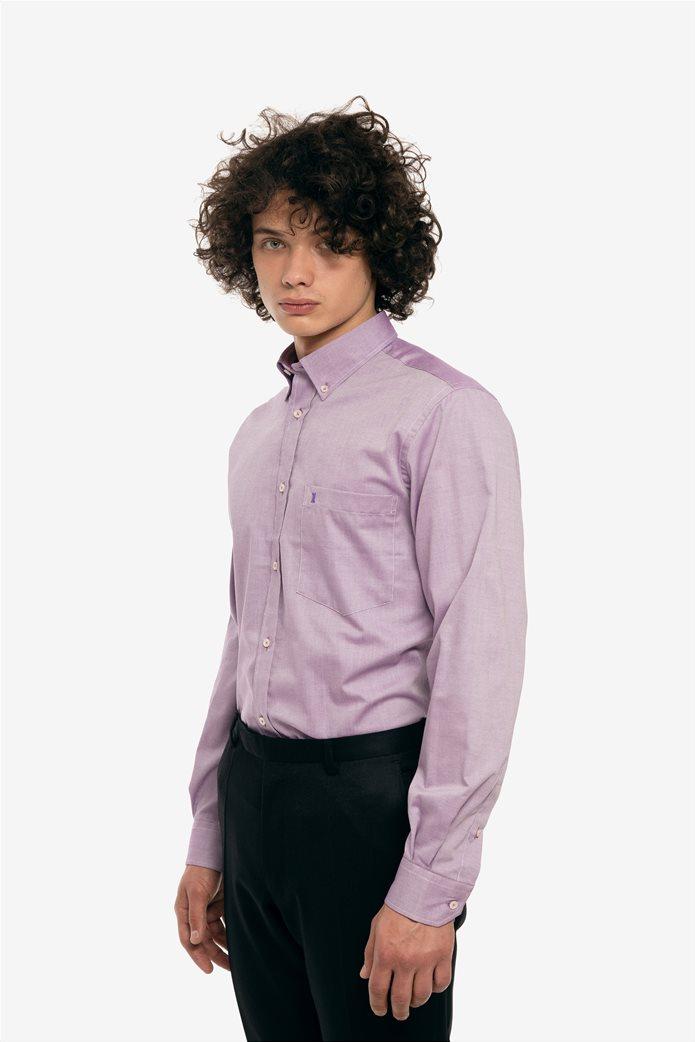 The Bostonians ανδρικό πουκάμισο με τσέπη και κουμπί σε διαφορετικό χρώμα 2 a08a6912be7