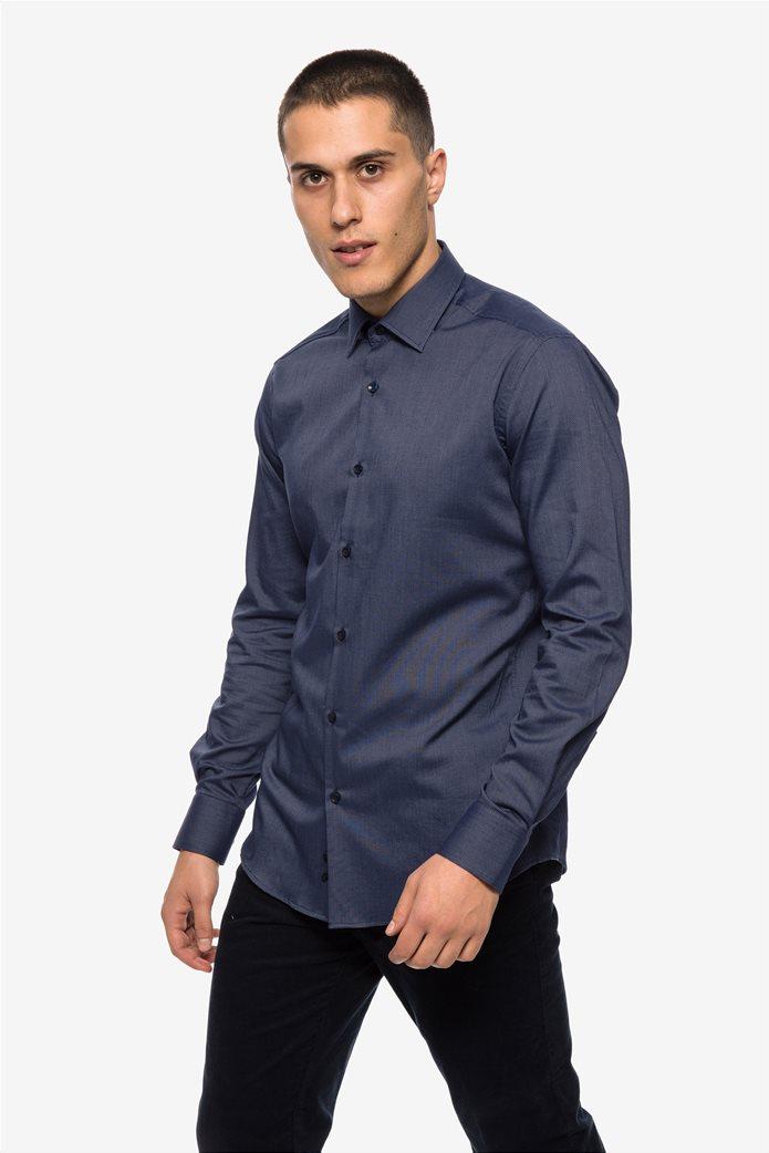 The Bostonians ανδρικό πουκάμισο με μικροσχέδιο Slim fit 2 f620f232846