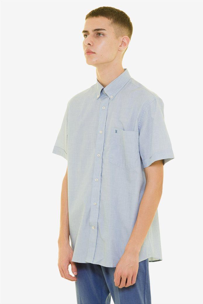 The Bostonians ανδρικό κοντομάνικο πουκάμισο (sizes 39-46) 2