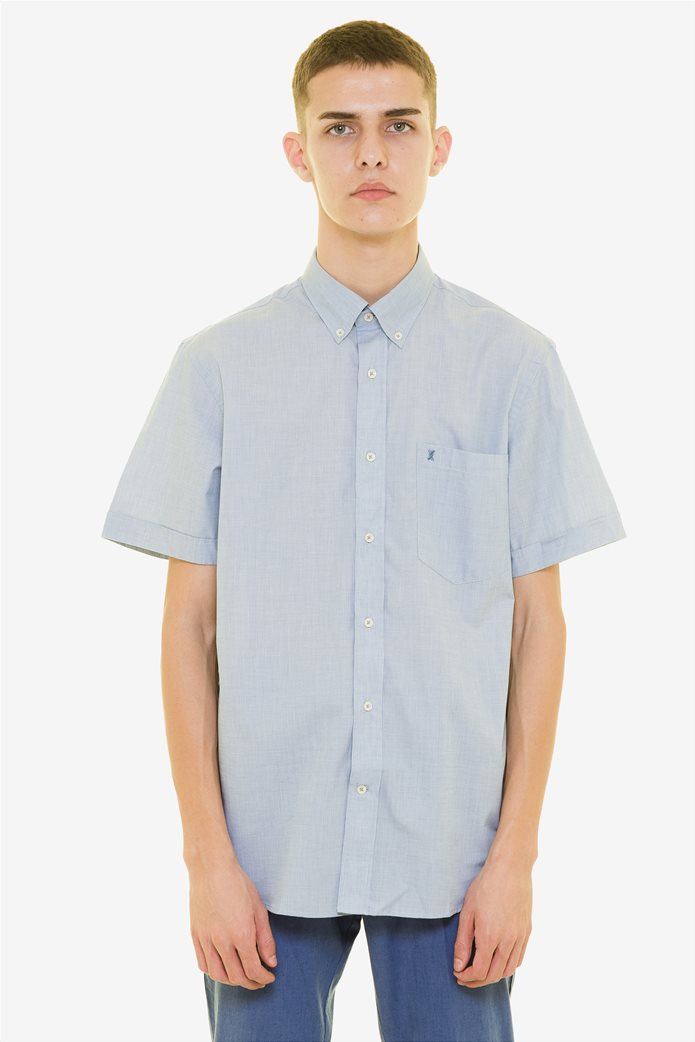 The Bostonians ανδρικό κοντομάνικο πουκάμισο (sizes 48-50) 1