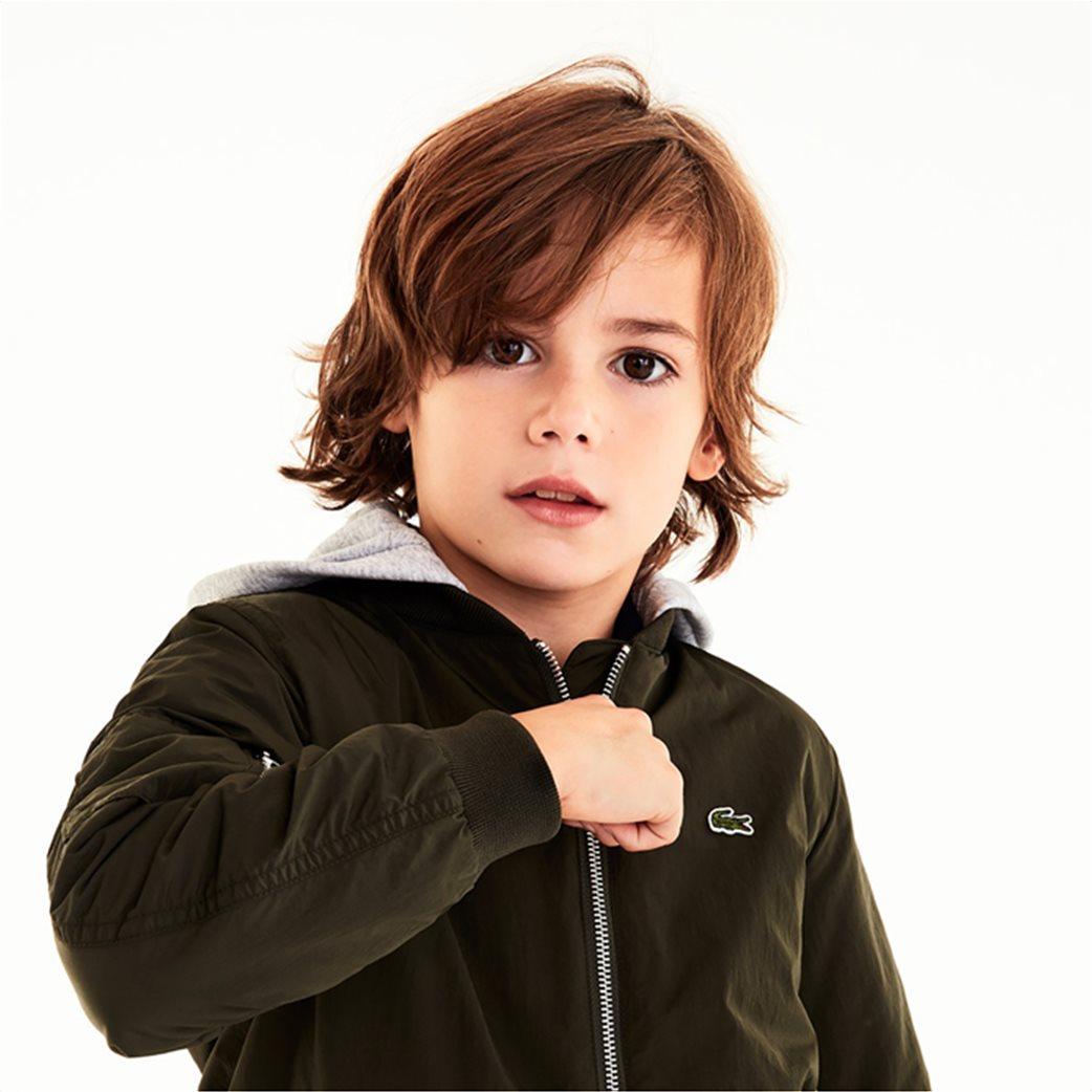 Lacoste παιδικό μπουφάν με κουκούλα (4-16 ετών) 2