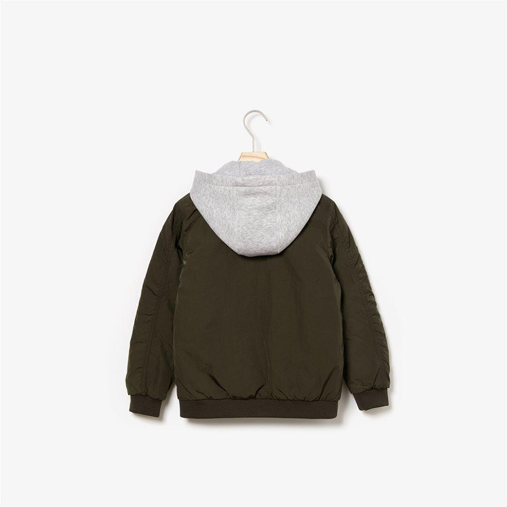 Lacoste παιδικό μπουφάν με κουκούλα (4-16 ετών) 4