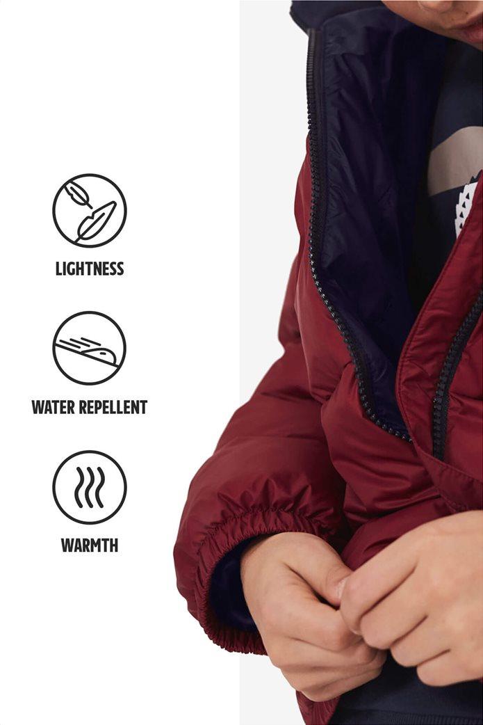 Lacoste παιδικό καπιτονέ μπουφάν με ενσωματωμένη κρυφή κουκούλα 3