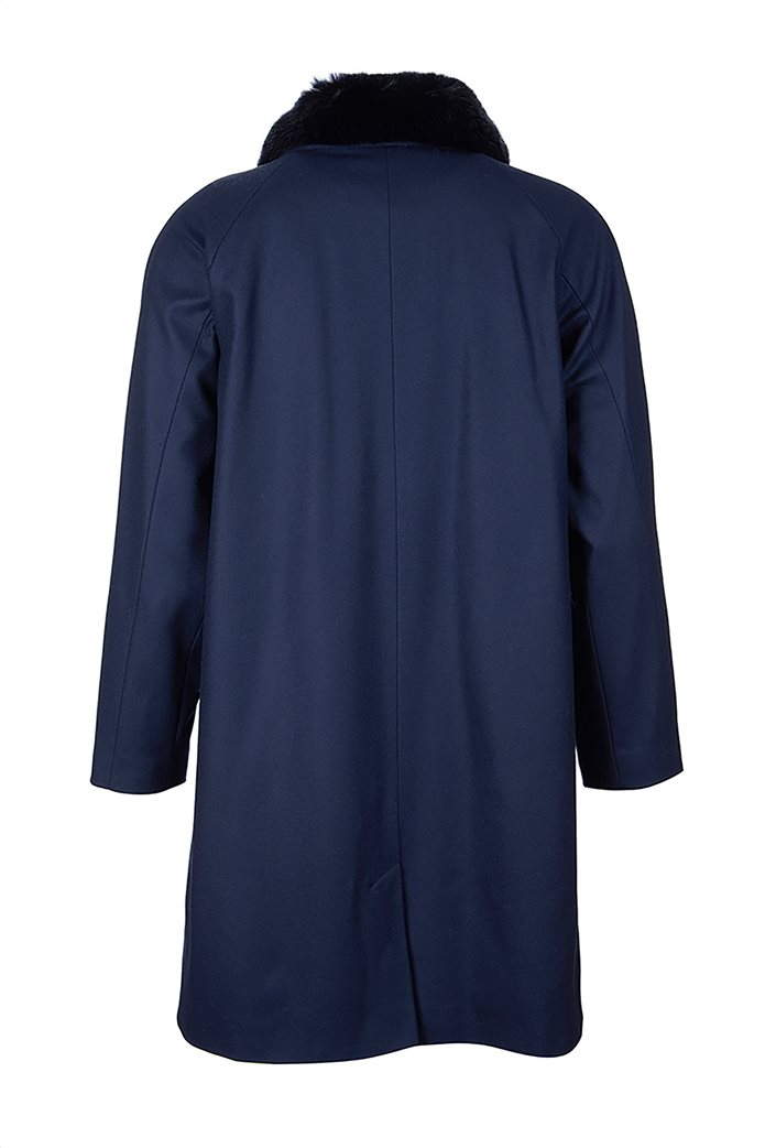 "Barbour γυναικείο παλτό με γούνινο γιακά ""Kelvin Wool"" 1"