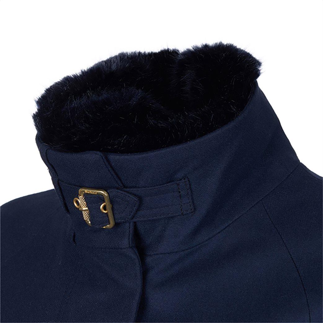 "Barbour γυναικείο παλτό με γούνινο γιακά ""Kelvin Wool"" 2"