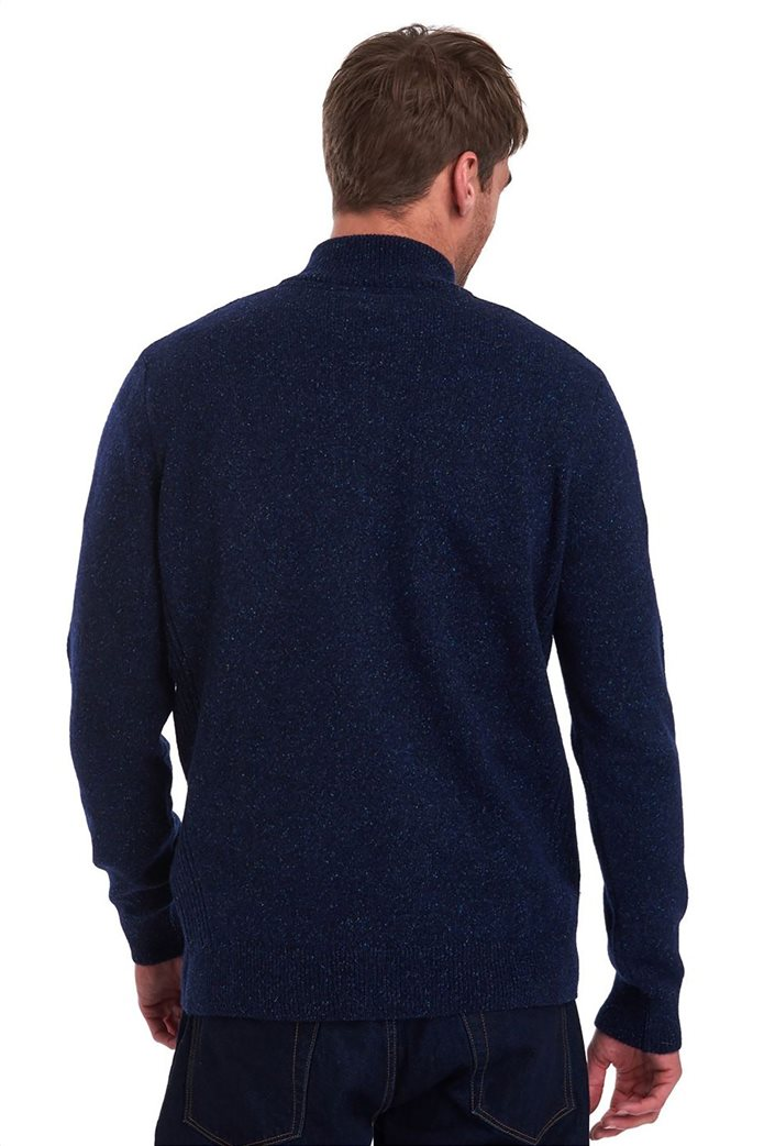 "Barbour ανδρική πλεκτή μπλούζα με φερμουάρ 3/4 ""Tisbury"" 2"