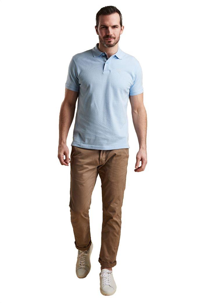 Barbour ανδρική μπλούζα πόλο μονόχρωμη 0