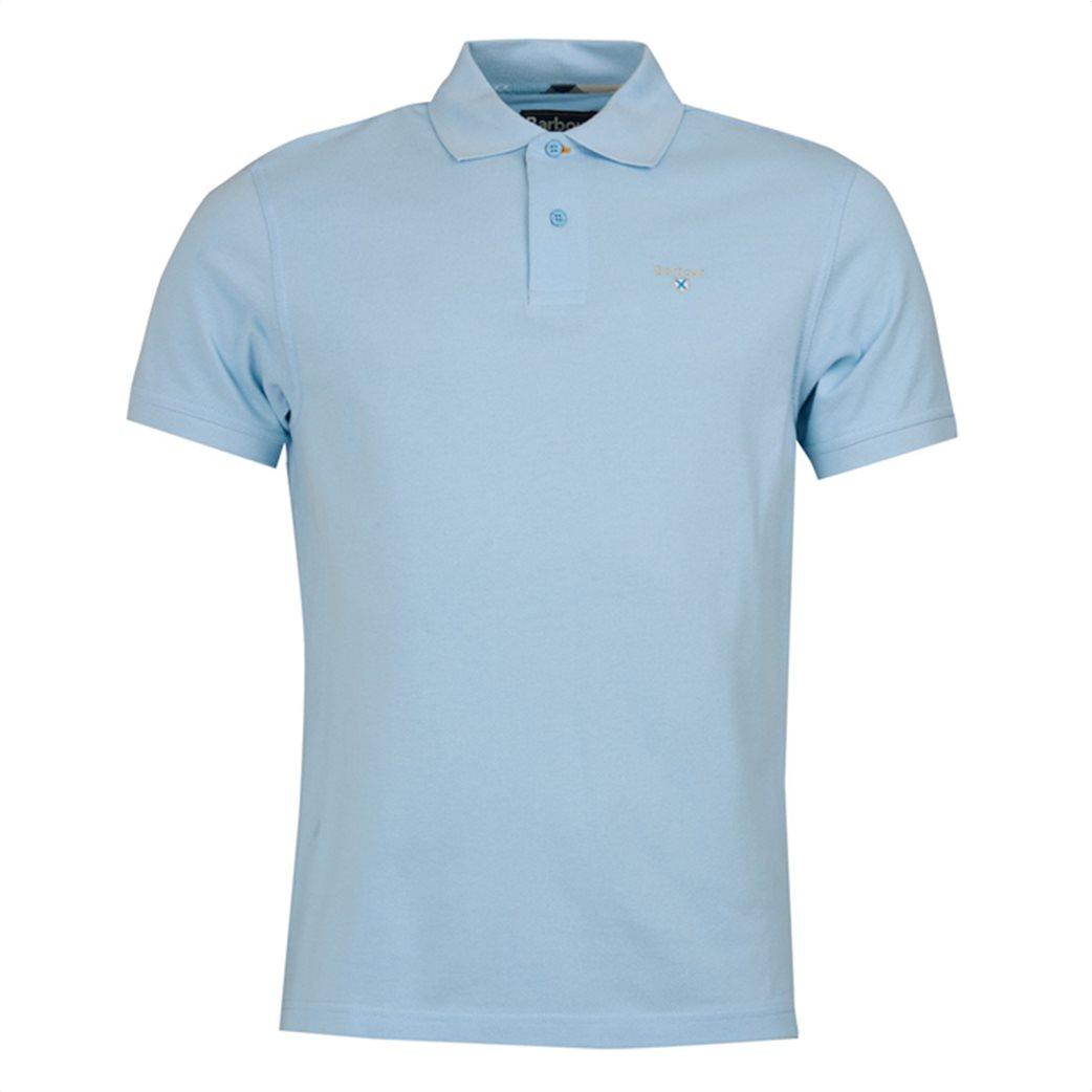 Barbour ανδρική μπλούζα πόλο μονόχρωμη 3