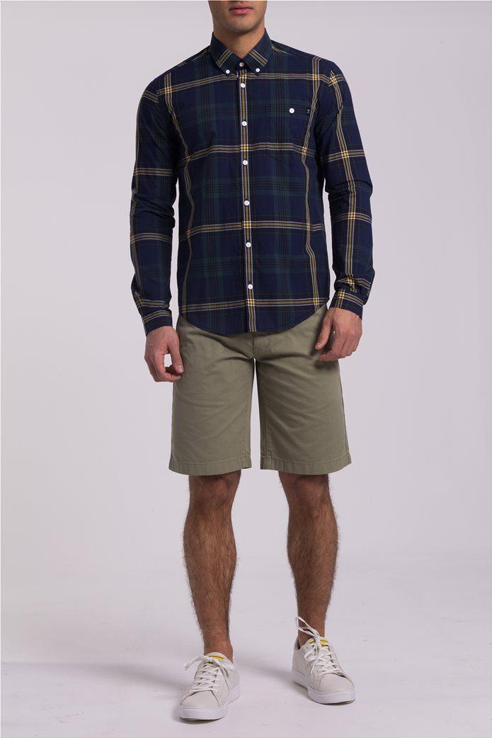 Barbour ανδρικό πουκάμισο καρό 1
